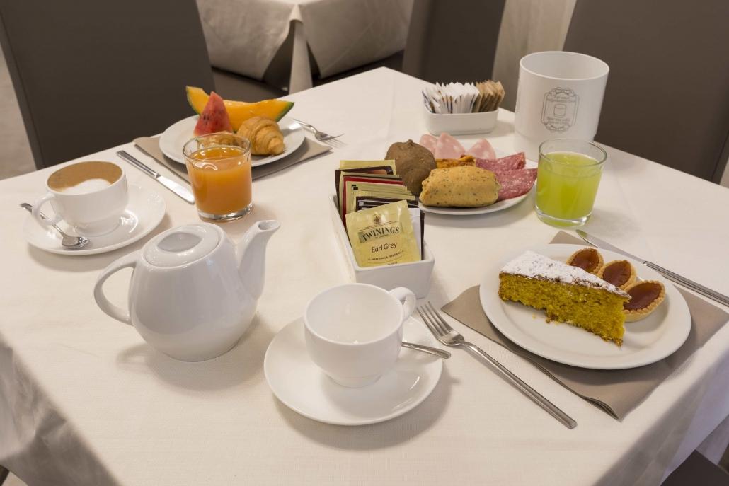 Buffet sala colazione